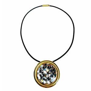 BALENCIAGA Crystal Pendant Necklace NWT